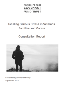 Tackling Serious Stress consultation report