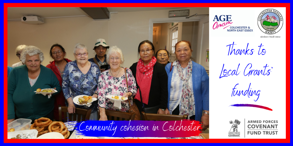 Age Concern project with older veterans and their families in Colchester