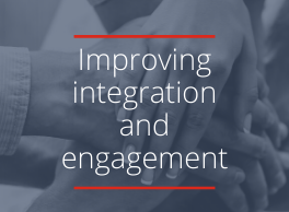 Improving integration and engagement