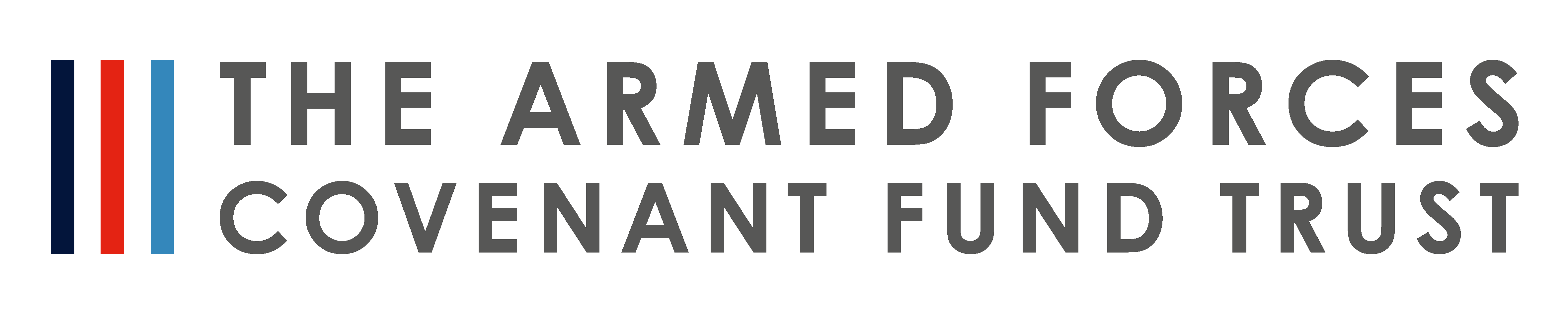 Armed Forces Covenant Fund Trust full colour logo, transparent background