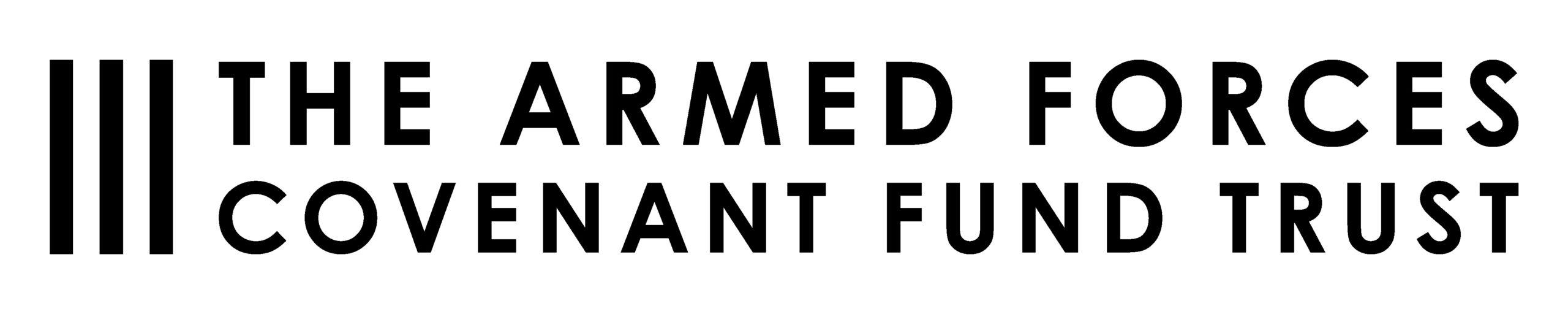 Armed Forces Covenant Fund Trust logo, black