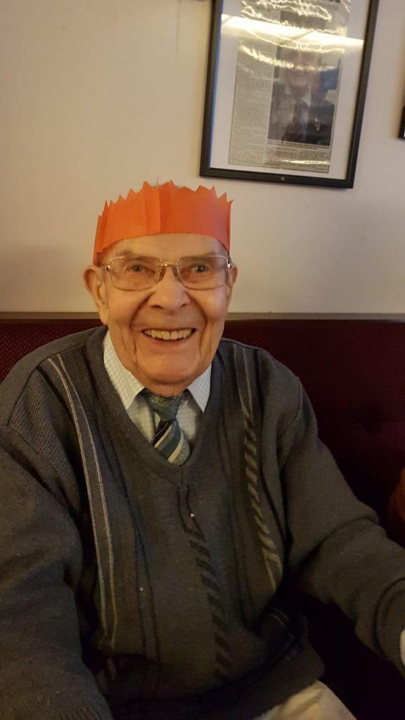 An older veteran