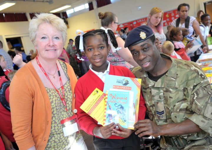 A family supported by Reading Force