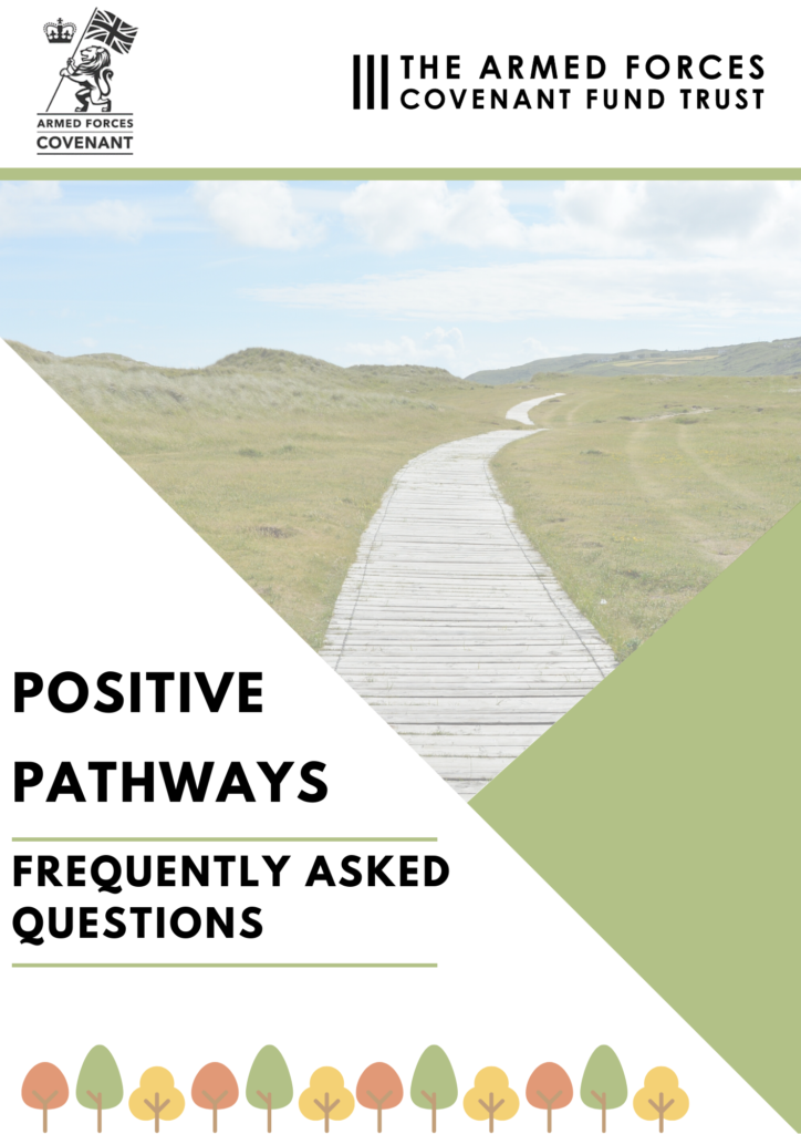 Positive Pathways FAQs