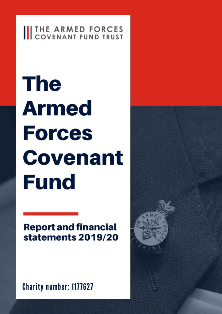 Front cover of the Annual Report and Accounts 2019/20