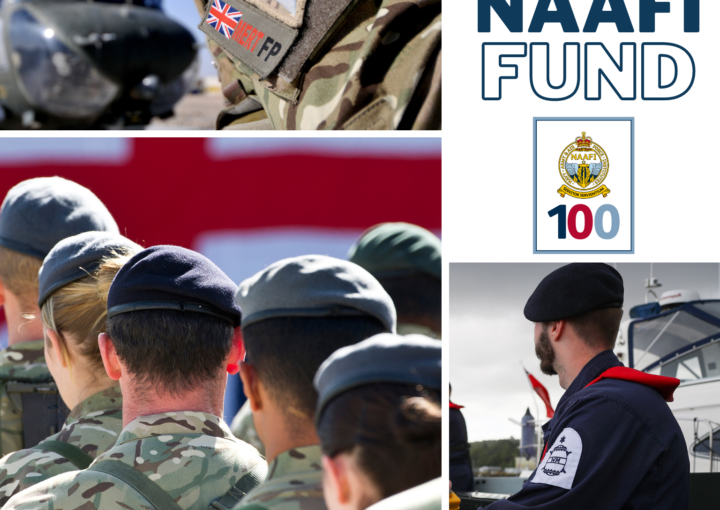 The NAAFI Fund: Images of Army, Navy and RAF personnel