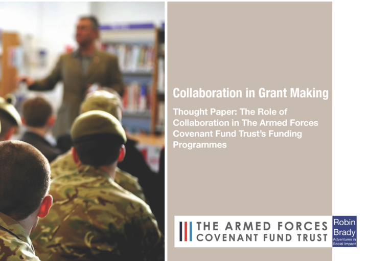 Collaboration in Grant Making - report front cover