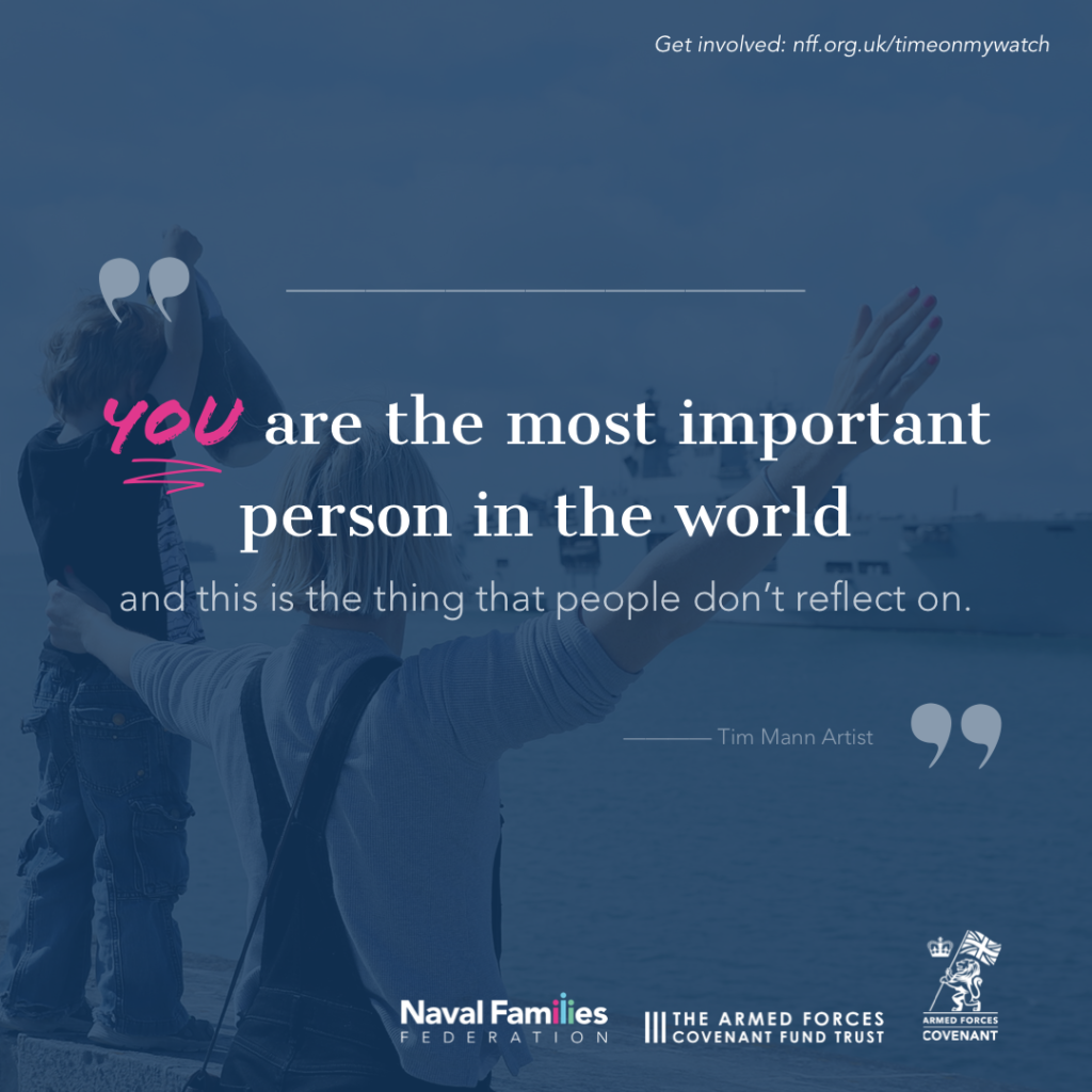 Quote by Tim Mann - You are the most important person in the world and this is the thing that people don't reflect on.