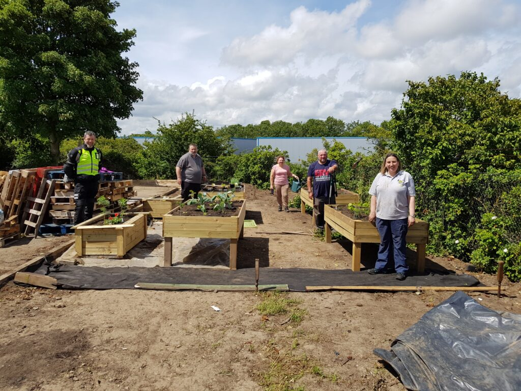 Veterans take part in outdoor sessions with Finchale