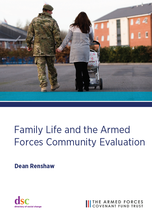 Front cover of the Family Life and Armed Forces Community Evaluation