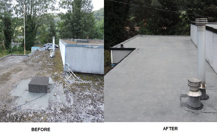 VCC project before and after