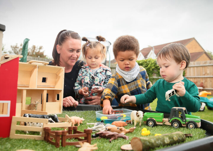 RAFA Carli THOMPSON offering a child minding service from her home in CONINGSBY 11SEP19