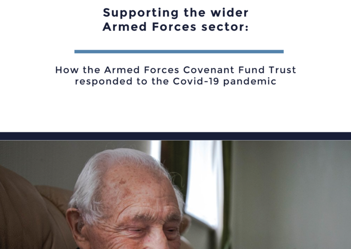 How the Armed Forces Covenant Fund Trust responded to the Covid-19 pandemic evaluation report